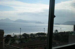 Apartamento a Venda no bairro Aparecida em Santos – SP. 4 banheiros