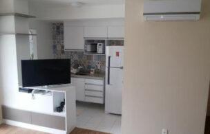 Apartamento a Venda no bairro Boqueirão em Santos – SP. 2 banheiros