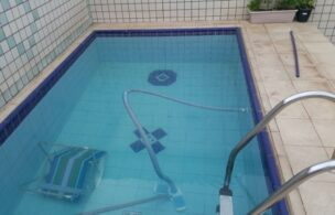 Apartamento a Venda no bairro Embare em Santos – SP. 5 banheiros