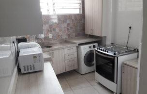 Apartamento a Venda no bairro José Menino em Santos – SP. 1 banheiro