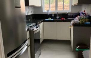 Apartamento a Venda no bairro Embare em Santos – SP. 2 banheiros