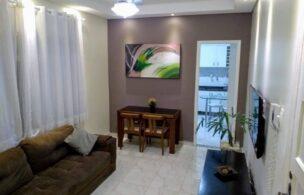 Apartamento a Venda no bairro Aparecida em Santos – SP. 1 banheiro