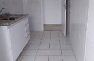 Apartamento a Venda no bairro Vila Mathias em Santos – SP. 1 banheiro com lazer