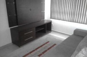 São Vicente carre four /praia apartamento novo mobiliado 2 quartos com suite elevador garagem