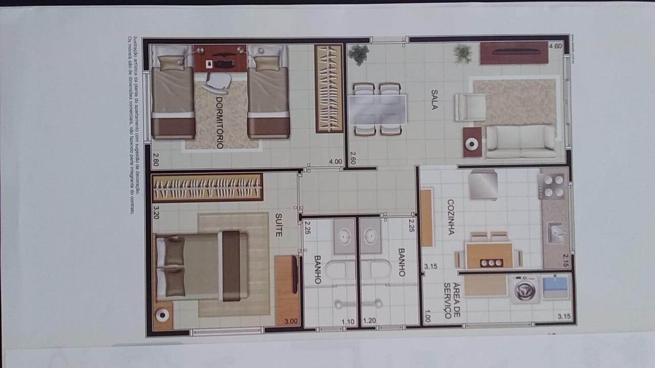 Apartamento com 2 dormitórios com 1 suíte  novo em  São Vicente ,elevador, garagem, lazer fica próximo Carre four e praia - foto 22