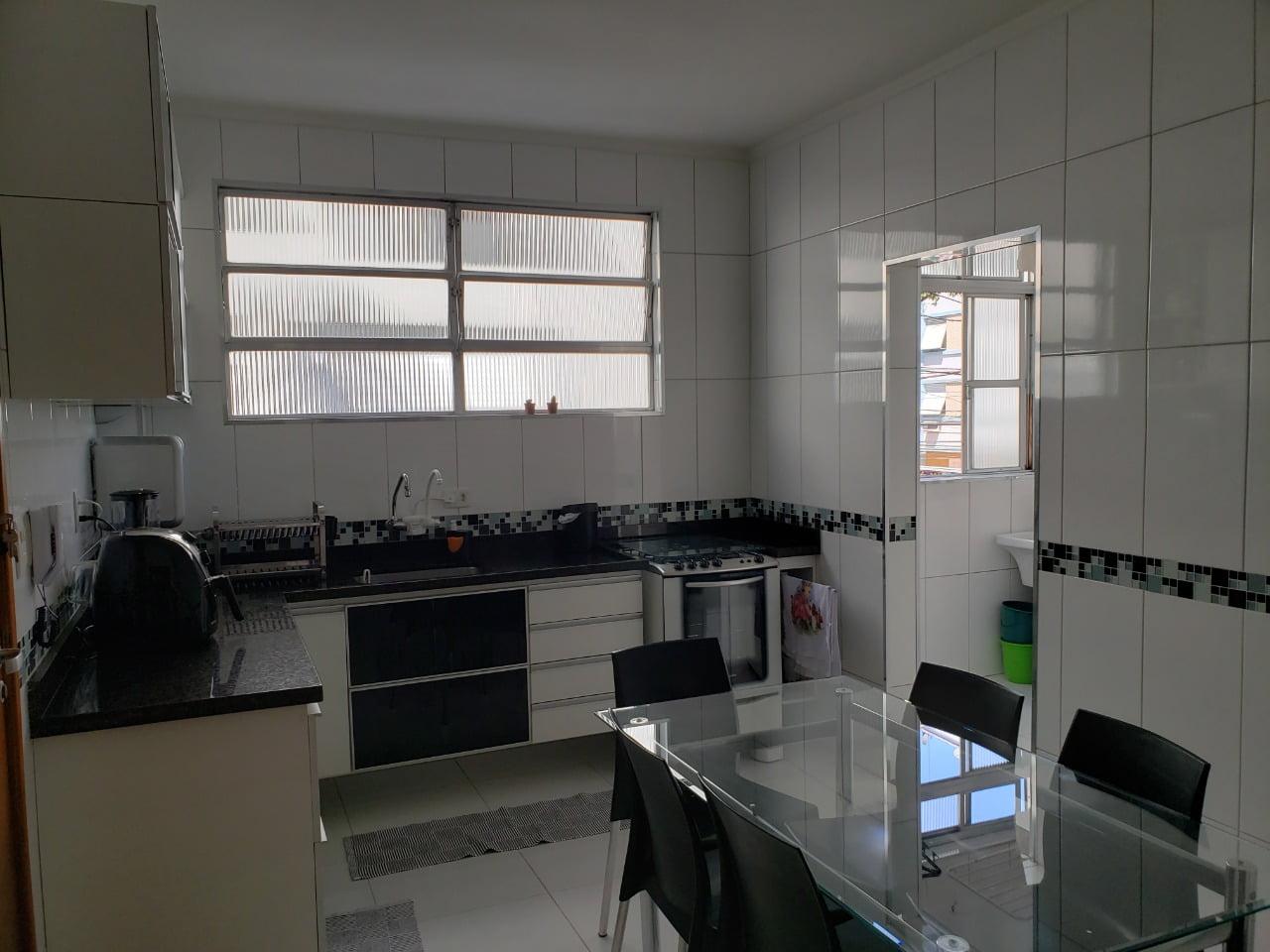 Apartamento no Bairro do Embaré , Santos , sendo 1º Andar, 3 dormitórios, 2 banheiros e garagem fechada. Todo reformado - foto 24