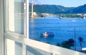 Lindo apartamento 3 dormitórios , Ponta da Praia/Santos com Vista pro mar