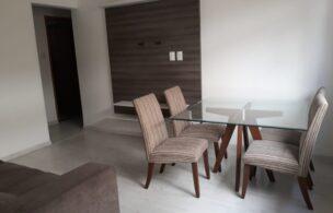 Apartamento em Santos reformado 2 dormitórios 1 vaga de garagem.