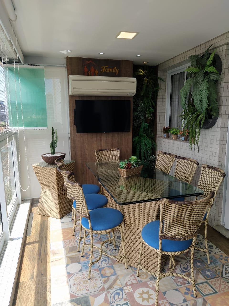 Embaré amplo apartamento com 3 dormitórios, sendo uma suite , ótima sala para 2 ambientes com varanda gourmet - foto 25