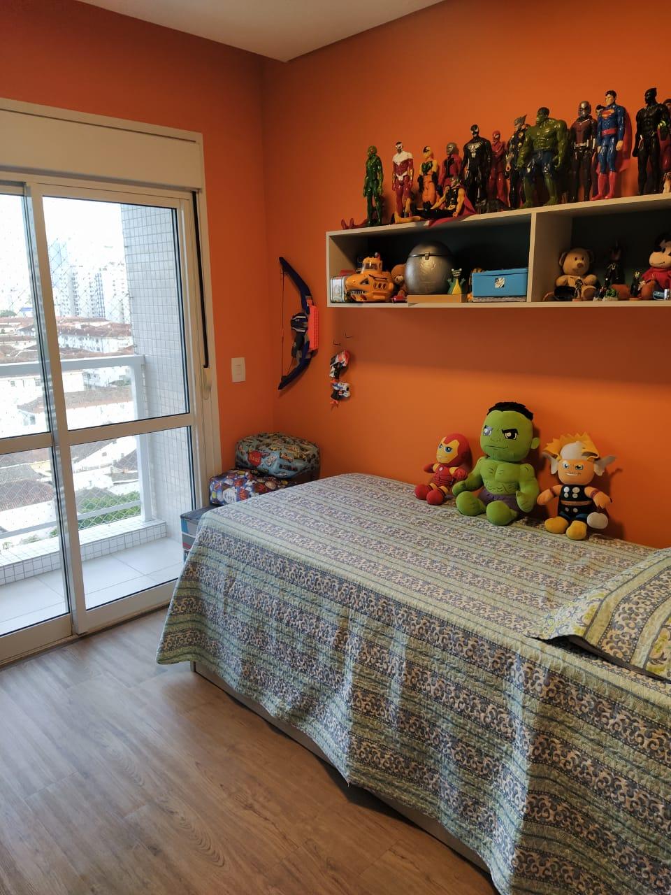 Embaré amplo apartamento com 3 dormitórios, sendo uma suite , ótima sala para 2 ambientes com varanda gourmet - foto 6