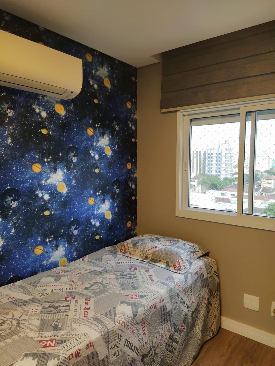 Embaré amplo apartamento com 3 dormitórios, sendo uma suite , ótima sala para 2 ambientes com varanda gourmet - foto 21