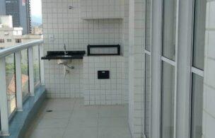 Lindo apartamento no bairro do Boqueirão em Santos,são 2 dormitórios, sendo 1 suíte, cozinha americana