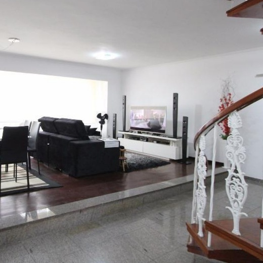 Gonzaga Apartamento de Cobertura Ampla com 523 metros de área útil com 4 dormitórios sendo 3 suítes e 3 garagens fechadas - foto 29