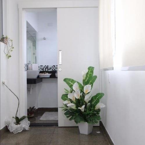 Gonzaga Apartamento de Cobertura Ampla com 523 metros de área útil com 4 dormitórios sendo 3 suítes e 3 garagens fechadas - foto 23