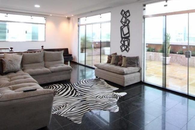 Gonzaga Apartamento de Cobertura Ampla com 523 metros de área útil com 4 dormitórios sendo 3 suítes e 3 garagens fechadas - foto 13