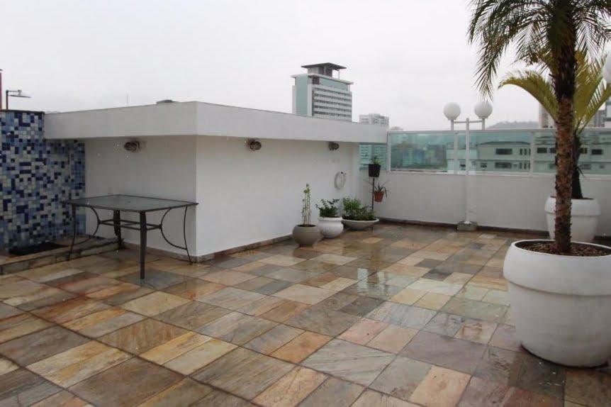 Gonzaga Apartamento de Cobertura Ampla com 523 metros de área útil com 4 dormitórios sendo 3 suítes e 3 garagens fechadas - foto 33