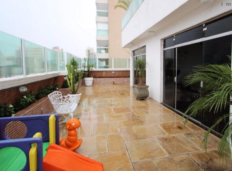 Gonzaga Apartamento de Cobertura Ampla com 523 metros de área útil com 4 dormitórios sendo 3 suítes e 3 garagens fechadas - foto 3