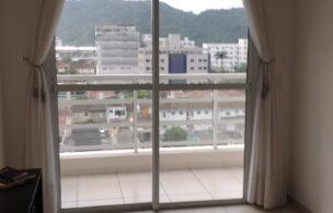 apartamento com 2 dormitórios com suite e uma varanda ,próximo avenida ana costa  prédio com lazer