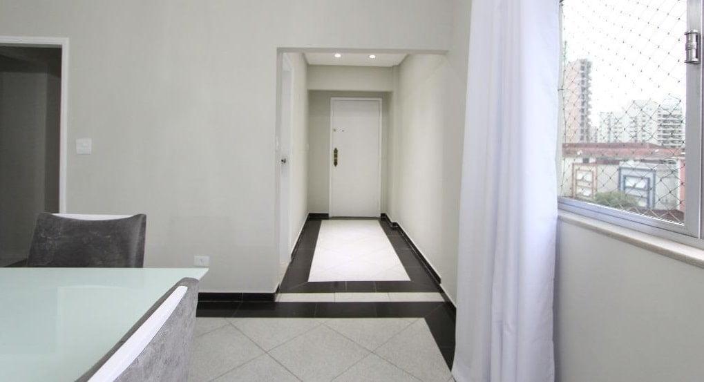 Apartamento amplo 4 dormitórios sendo 2 suítes Gonzaga, Santos, S.P - foto 5