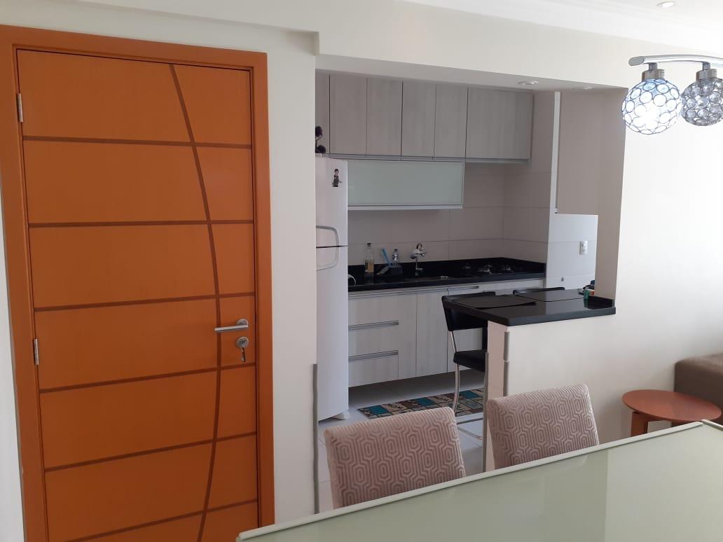 Vila Belmiro 2 dormitórios com banheiro de empregada e lazer completo no canal 2 - foto 3