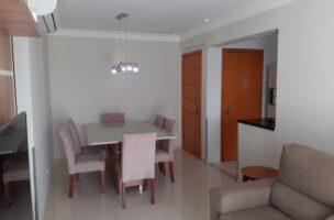 Vila Belmiro 2 dormitórios com banheiro de empregada e lazer completo no canal 2
