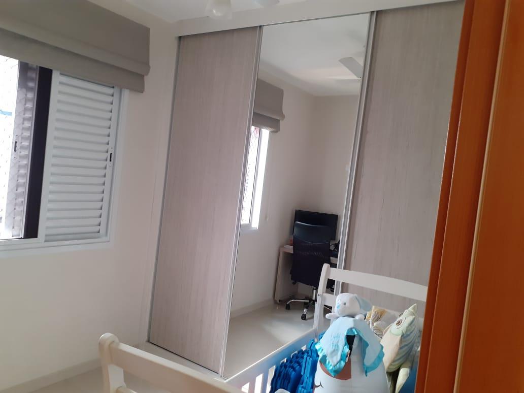 Vila Belmiro 2 dormitórios com banheiro de empregada e lazer completo no canal 2 - foto 8
