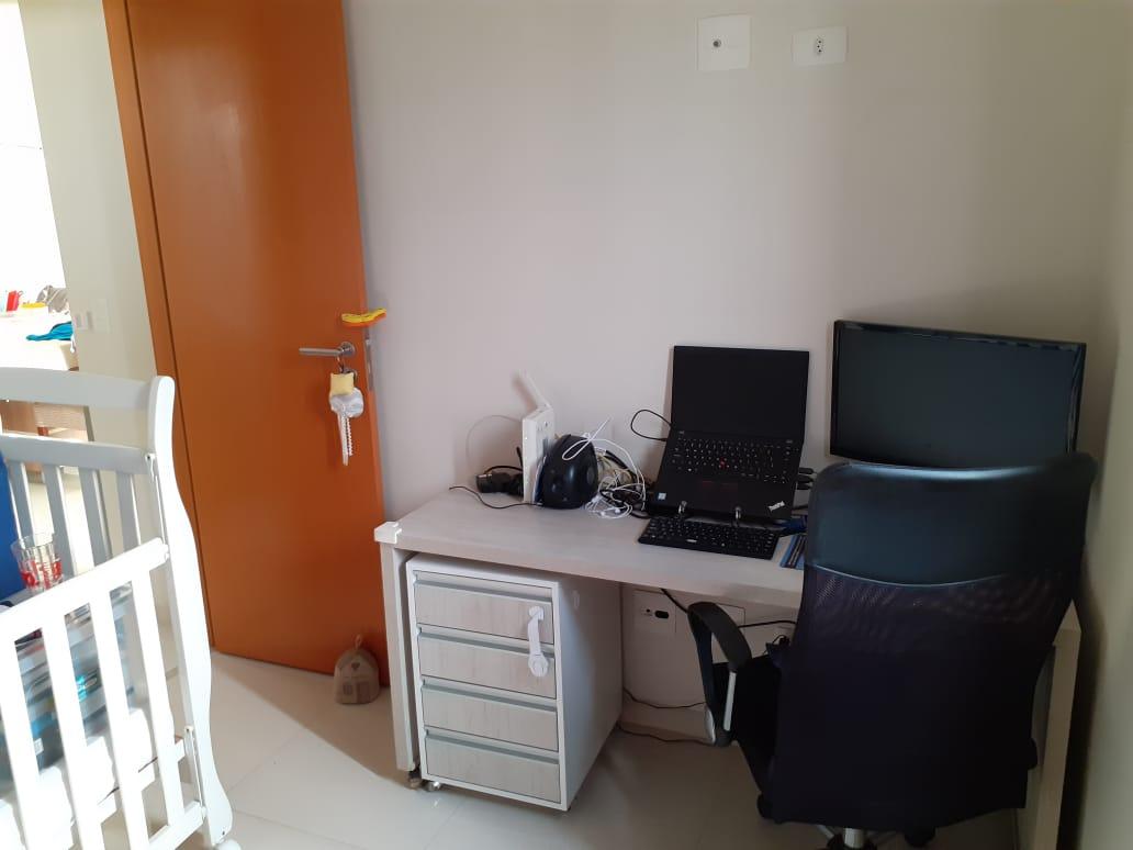 Vila Belmiro 2 dormitórios com banheiro de empregada e lazer completo no canal 2 - foto 11
