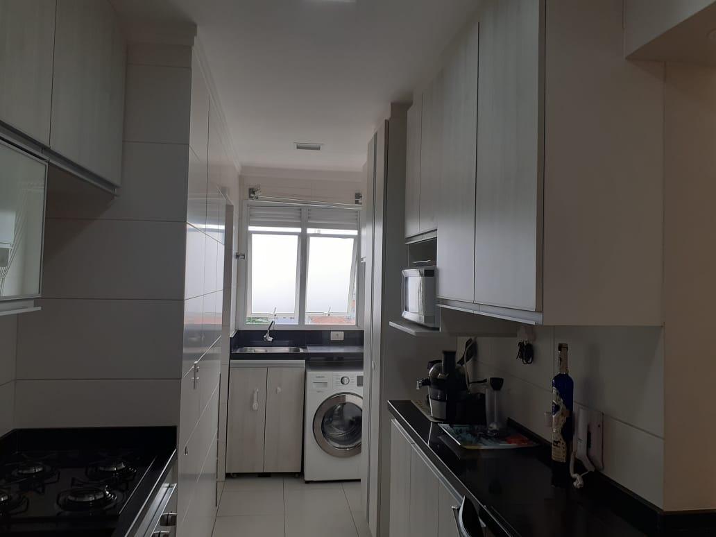 Vila Belmiro 2 dormitórios com banheiro de empregada e lazer completo no canal 2 - foto 15