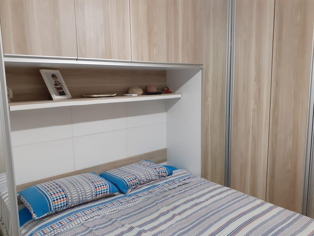 Vila Belmiro 2 dormitórios com banheiro de empregada e lazer completo no canal 2 - foto 22