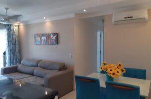 apartamento a venda com 2 dormitórios 1 suite sala 2 ambientes com varanda e vista livre
