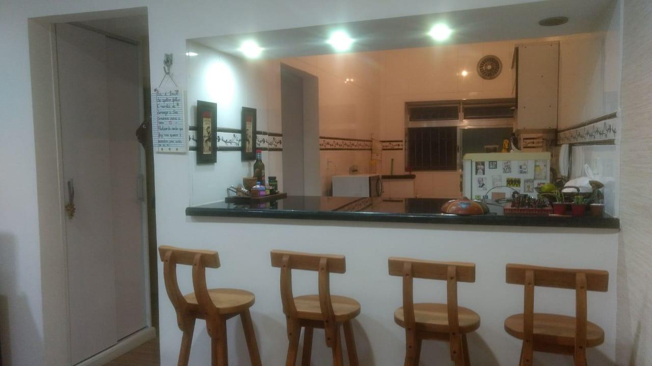 apartamento a venda no Gonzaga em santos térreo de 1 dormitório e garagem. - foto 9