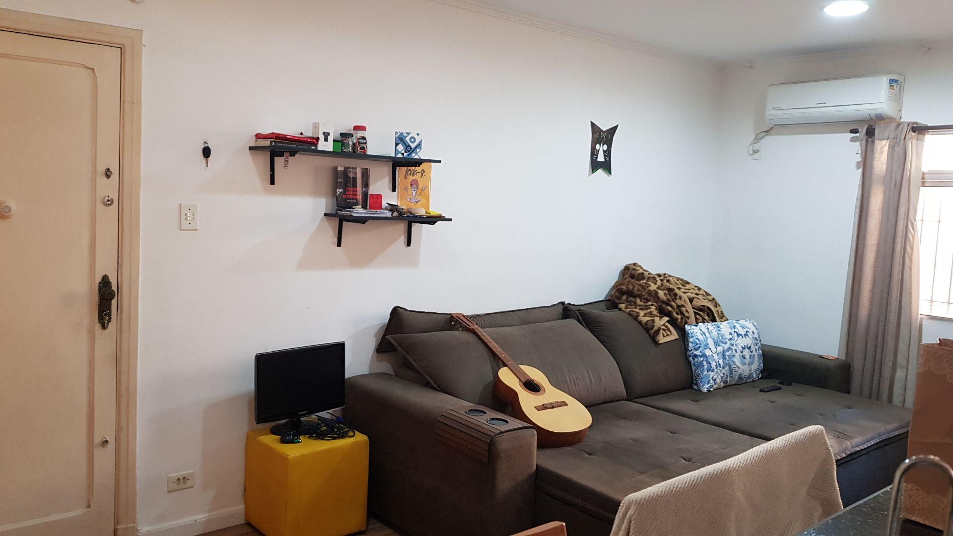 apartamento a venda no Gonzaga em santos térreo de 1 dormitório e garagem. - foto 3