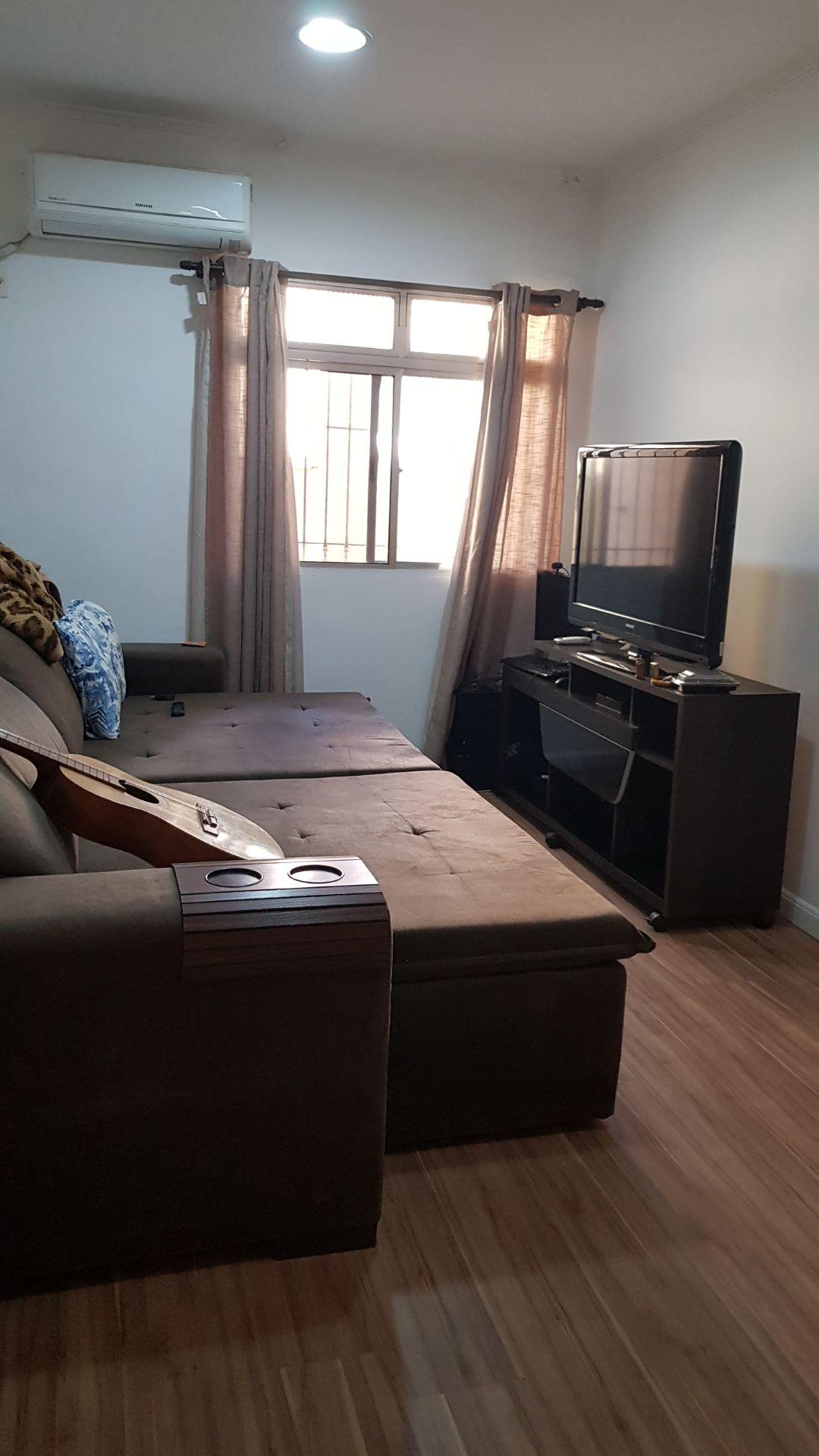 apartamento a venda no Gonzaga em santos térreo de 1 dormitório e garagem. - foto 1