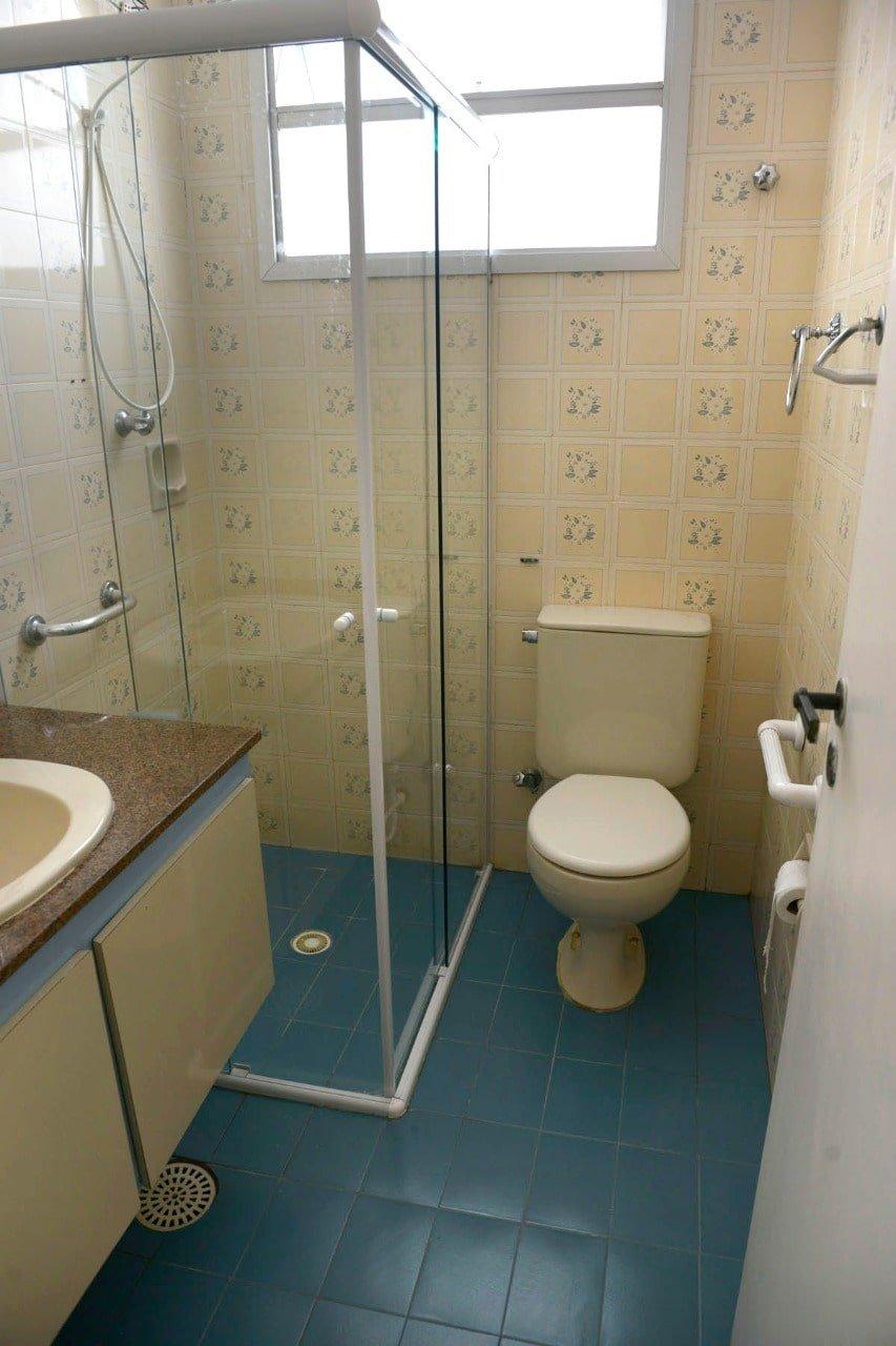 Amplo apartamento Boqueirão ( canal 4) de 1 dormitório com uma área interna de 61,m². - foto 16