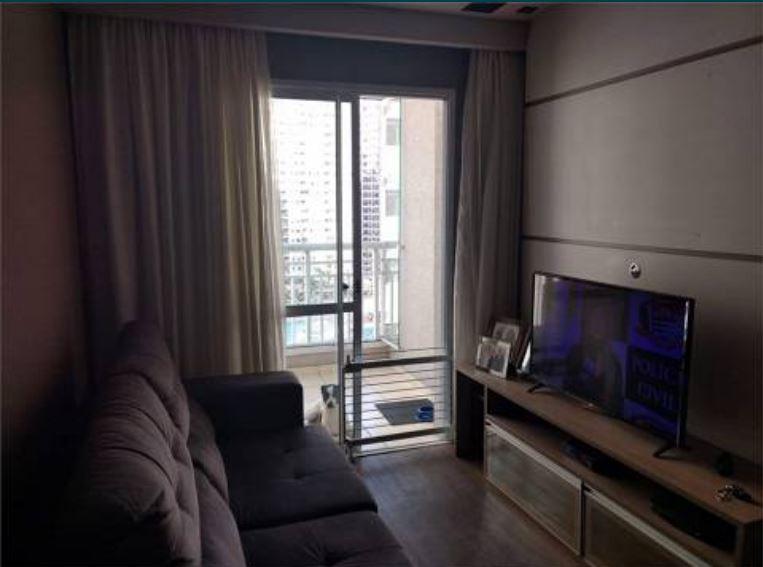 Apartamento no marapé todo planejado com 2 dormitórios sendo 1 suíte varanda - foto 1
