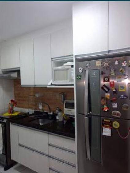 Apartamento no marapé todo planejado com 2 dormitórios sendo 1 suíte varanda - foto 2