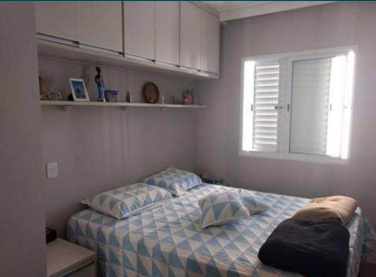 Apartamento no marapé todo planejado com 2 dormitórios sendo 1 suíte varanda - foto 3