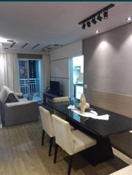 Apartamento no marapé todo planejado com 2 dormitórios sendo 1 suíte varanda - foto 6