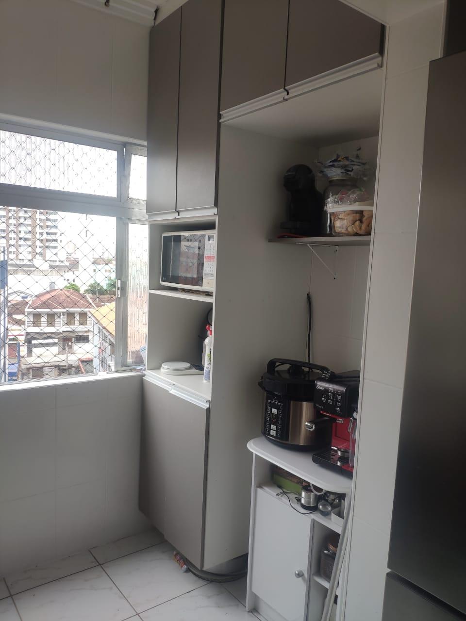 Apartamento 3 dormitórios bem arejado, iluminado, todo reformado, com piso frio e papel de parede,garagem fechada. - foto 12