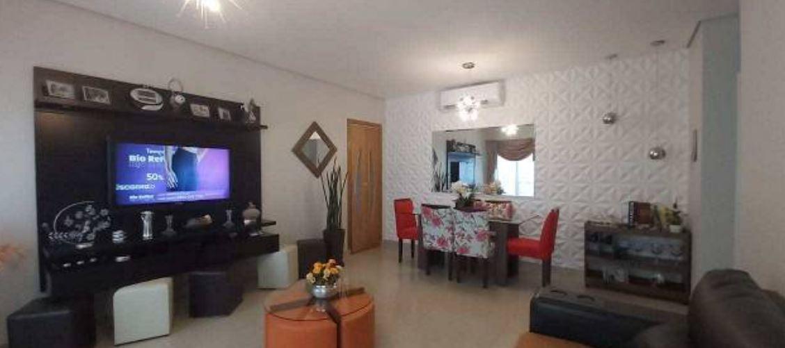 Ótimo apartamento no bairro da Aparecida com 3 suítes com armários , sala ampla 2 ambientes. - foto 6