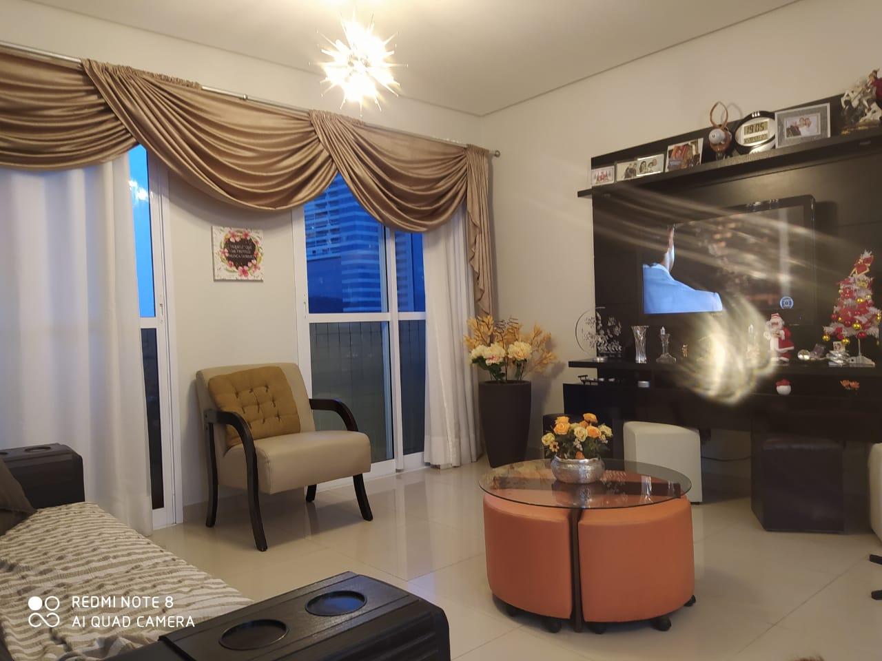 Ótimo apartamento no bairro da Aparecida com 3 suítes com armários , sala ampla 2 ambientes. - foto 26