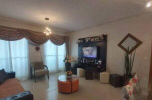 Ótimo apartamento no bairro da Aparecida com 3 suítes com armários , sala ampla 2 ambientes.