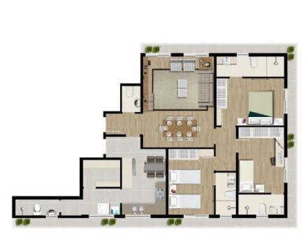 Ótimo apartamento no bairro da Aparecida com 3 suítes com armários , sala ampla 2 ambientes. - foto 28