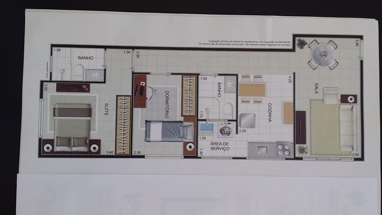 Apartamento com 2 dormitórios com 1 suíte  novo em  São Vicente ,elevador, garagem, lazer fica próximo Carre four e praia - foto 23
